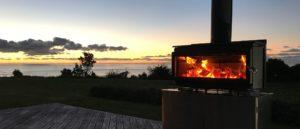 MetroFire-Outdoor-850-T-On-Deck-Sunset